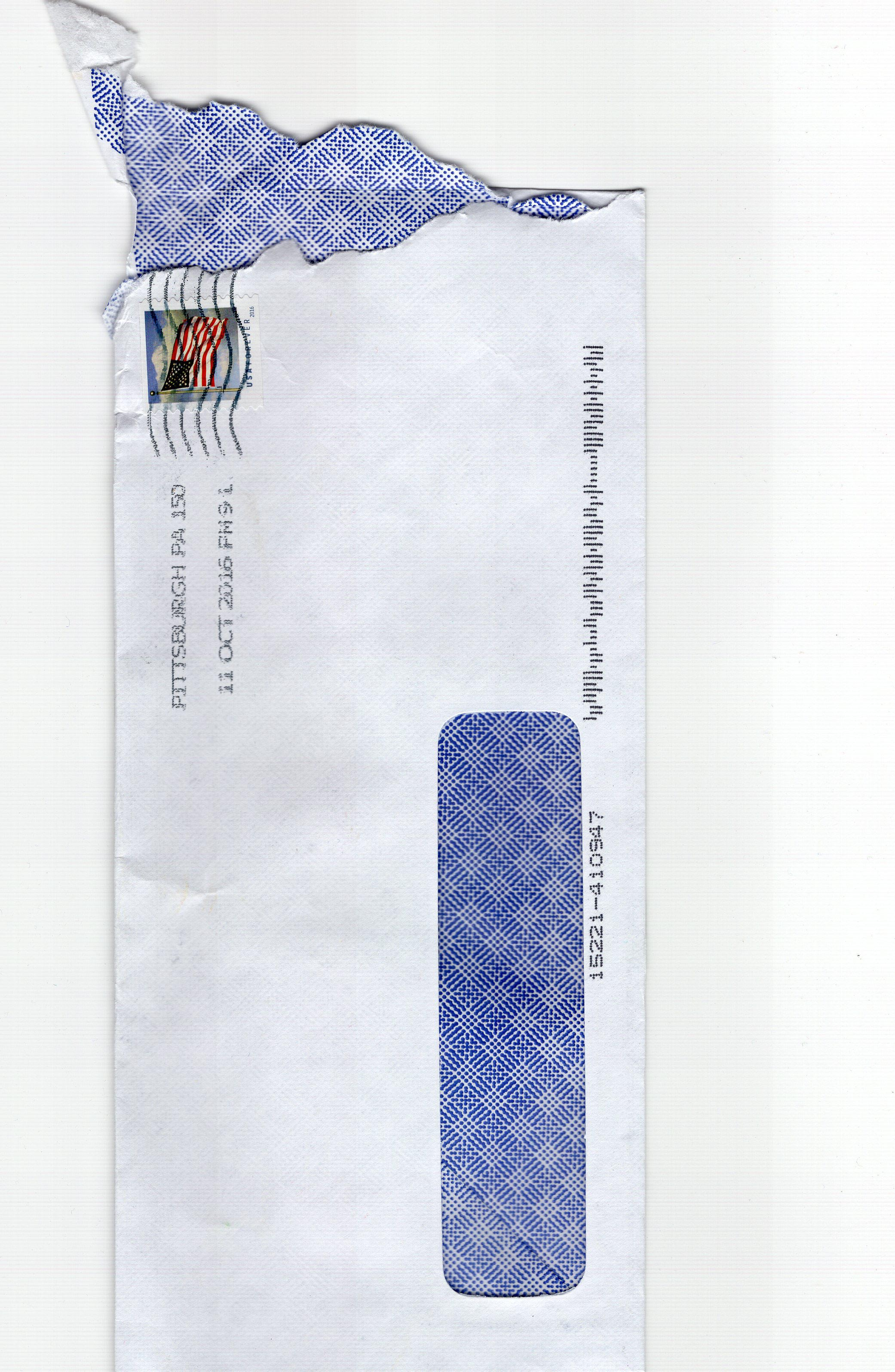 I received a blackmail letter | Dave Eargle